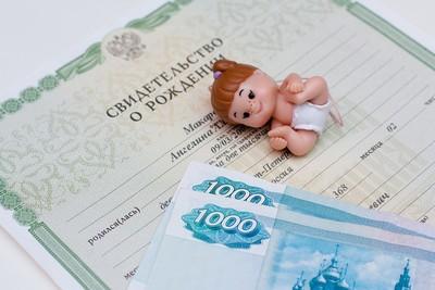 субсидии на первого ребенка в 2020 году